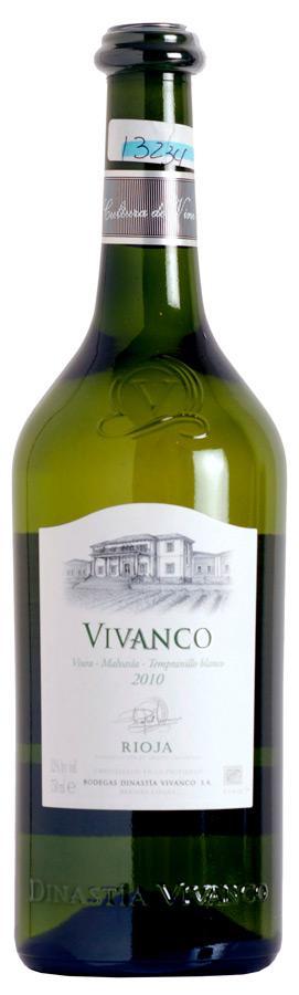 Vivanco Viura - Malvasía- Tempranillo Blanco
