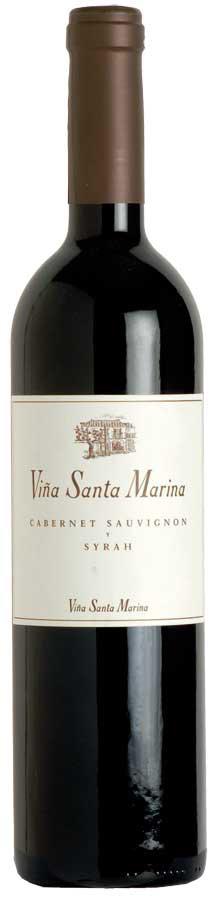 Viña Santa Marina Cabernet Sauvignon y Syrah