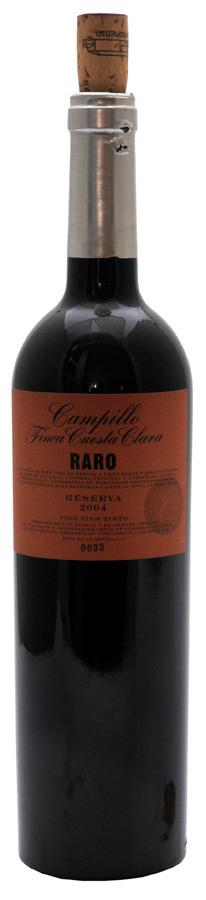 Campillo Reserva Finca Cuesta Clara RARO