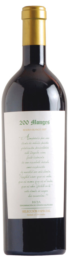 200 Monges Reserva Selección Especial Blanco