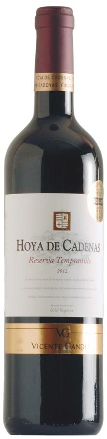 Hoya de Cadenas Reserva Tempranillo
