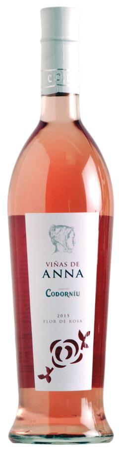 Viñas de Anna. Flor de Rosa
