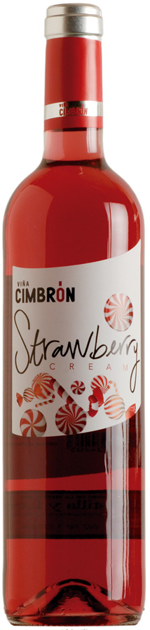 Viña Cimbrón Strawberry Cream