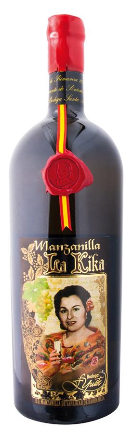 Manzanilla La Kika en Rama