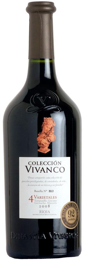Coleccion Vivanco 4 Varietales