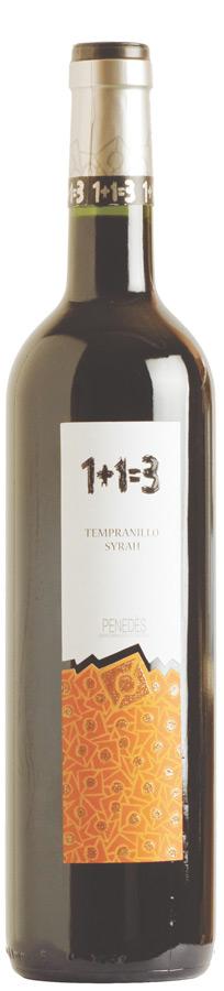 1+1=3 Tempranillo-Syrah