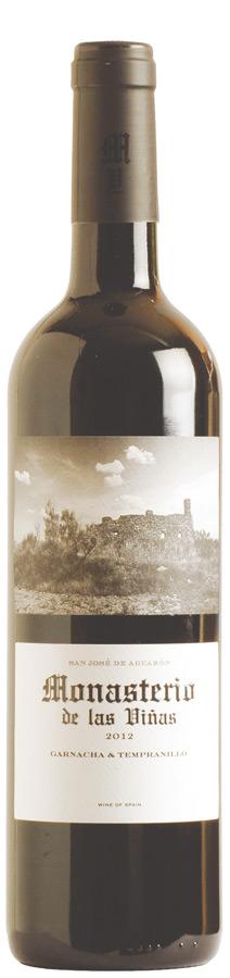 Monasterio de las Viñas Garnacha Tempranillo