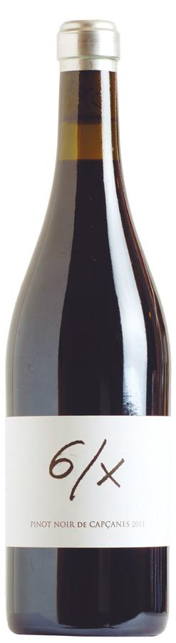 6/X Pinot Noir de Capçanes
